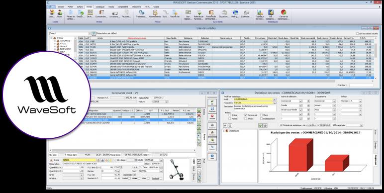 Wavesoft ERP : : Aperçu de l'interface utilisateur